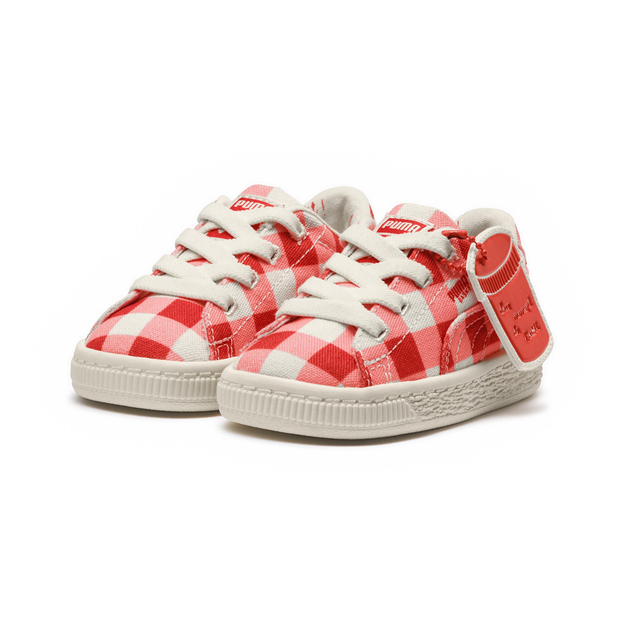 Image Puma PUMA x TINYCOTTONS Kids' Pre School Basket Sneakers #2