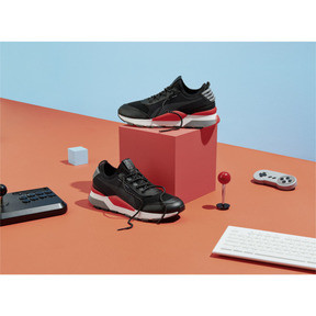 Thumbnail 6 of RS-0 PLAY Sneaker, Black-HighRiskRed-White, medium