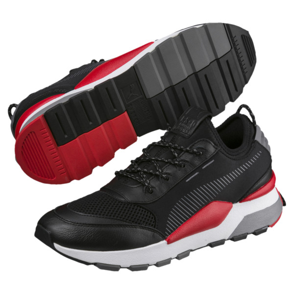 Evolution RS-0 Play Trainers, Black-HighRiskRed-White, large