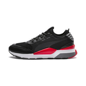 Thumbnail 1 of RS-0 PLAY Sneaker, Black-HighRiskRed-White, medium