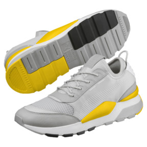 Thumbnail 2 of Evolution RS-0 Play Trainers, Gray Violet-Dandelion-White, medium