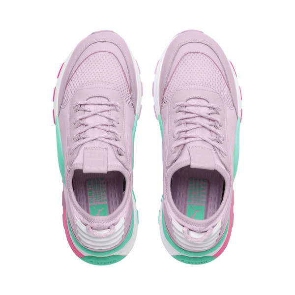 Evolution RS-0 Play Trainers, WinOrchid-BiscayGreen-PWhite, large