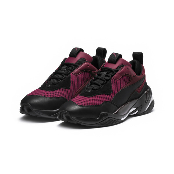 Thunder Spectra Men's Sneakers, Rhododendron-P Black-T Port, large