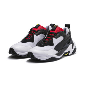 Thumbnail 2 of Basket Thunder Spectra, Puma Black-High Risk Red, medium