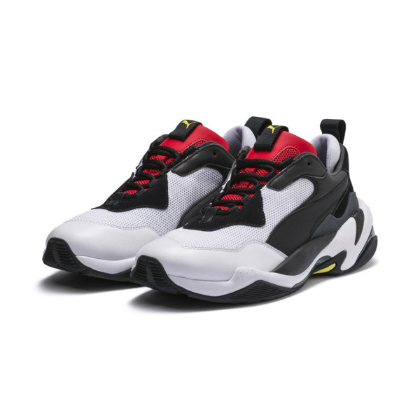 Thunder Spectra Trainers, Puma Black-High Risk Red, large