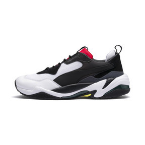 Thumbnail 1 of Thunder Spectra Trainers, Puma Black-High Risk Red, medium