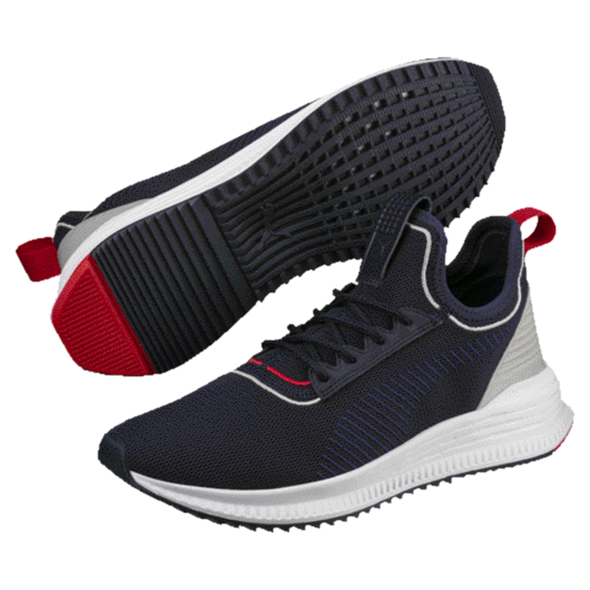 PUMA Avid evoKNIT Sports Stripes Running Shoes Men Shoe ...