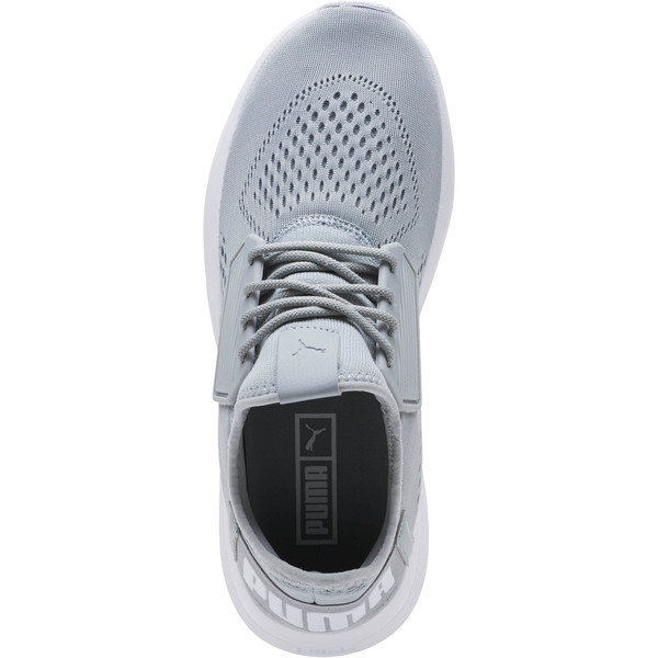 Uprise Mesh Men's Sneakers, Quarry-White-White, large