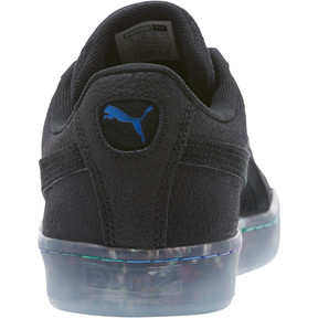 Thumbnail 4 of Suede Classic V2 AOP Men's Sneakers, Puma Black-Puma Royal, medium