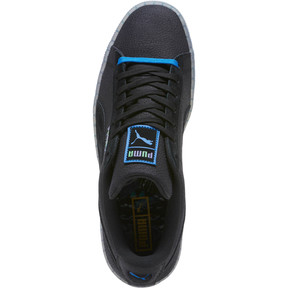 Thumbnail 5 of Suede Classic V2 AOP Men's Sneakers, Puma Black-Puma Royal, medium
