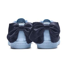 Thumbnail 4 of Basket Bow Patent Sneakers JR, CERULEAN-Peacoat, medium