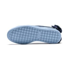 Thumbnail 3 of Basket Bow Patent Sneakers JR, CERULEAN-Peacoat, medium