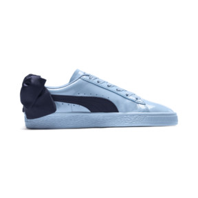 Thumbnail 5 of Basket Bow Patent Sneakers JR, CERULEAN-Peacoat, medium