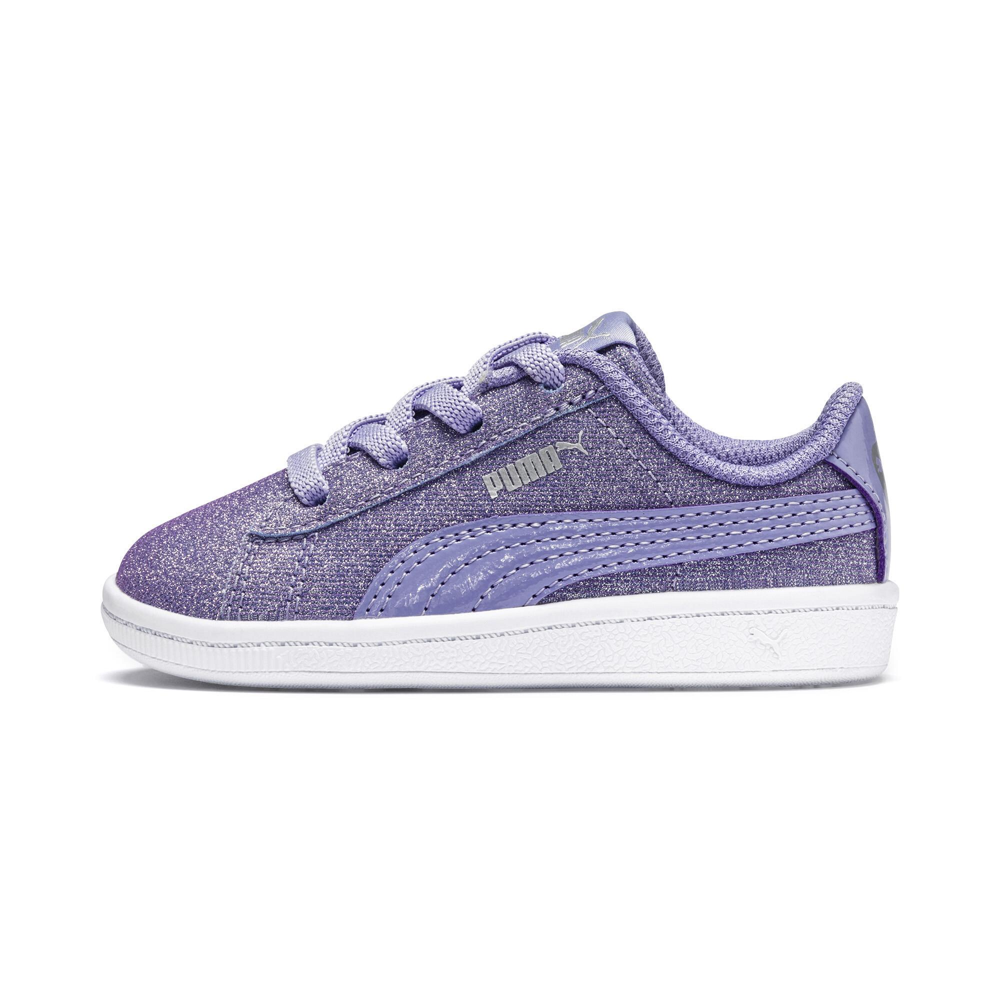 cfb210d59 Puma Vikky Full Glitz AC PreSchool Sneakers | 90 - Purple | Puma