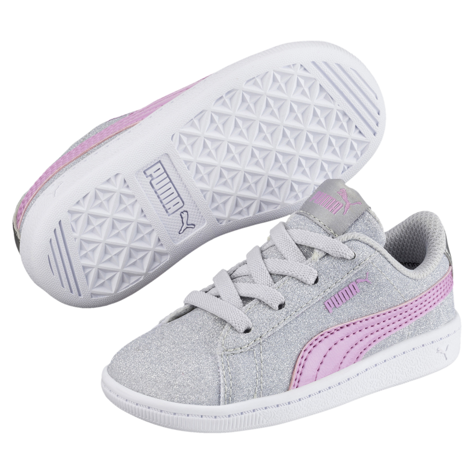 Image Puma Puma Vikky Full Glitz AC Baby Sneakers #2