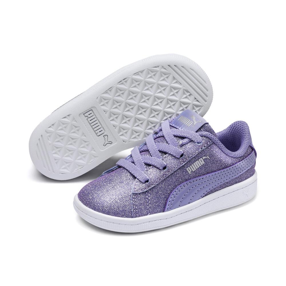 Puma Silver Glitter Sneakerstoddler 7. New! NWT