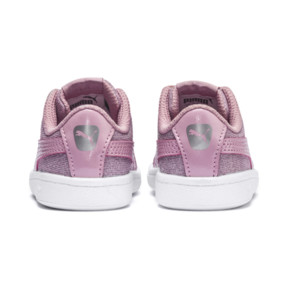 Thumbnail 4 of PUMA Vikky Glitz AC Sneakers INF, Pale Pink-Pale Pink, medium