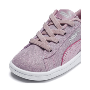 Thumbnail 6 of PUMA Vikky Glitz AC Sneakers INF, Pale Pink-Pale Pink, medium