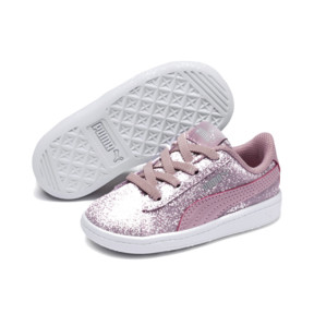 Thumbnail 2 of PUMA Vikky Glitz AC Sneakers INF, Pale Pink-Pale Pink, medium