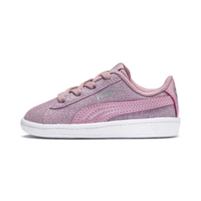 Thumbnail 1 of PUMA Vikky Glitz AC Sneakers INF, Pale Pink-Pale Pink, medium