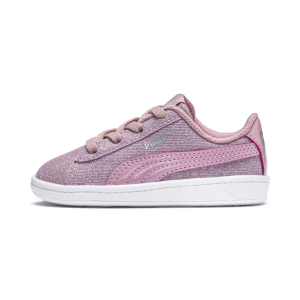 PUMA Vikky Glitz AC Sneakers INF, Pale Pink-Pale Pink, large