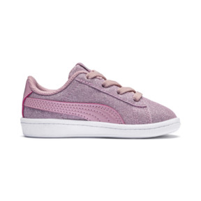 Thumbnail 5 of PUMA Vikky Glitz AC Sneakers INF, Pale Pink-Pale Pink, medium