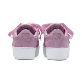 Thumbnail 3 of Vikky Platform Ribbon Youth Mädchen Sneaker, Pale Pink-Pale Pink, medium