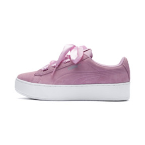 Thumbnail 1 of Vikky Platform Ribbon Youth Mädchen Sneaker, Pale Pink-Pale Pink, medium
