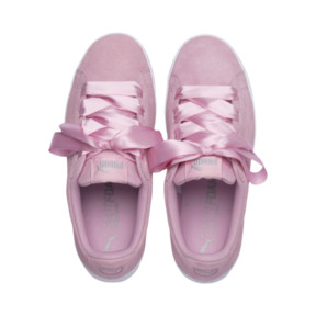 Thumbnail 6 of Vikky Platform Ribbon Youth Mädchen Sneaker, Pale Pink-Pale Pink, medium