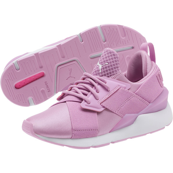 Muse JR Sneakers, Orchid-Orchid, large