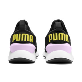 Thumbnail 4 of Muse Kids' Trainers, Puma Black-Pale Pink, medium