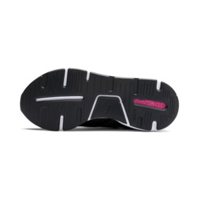 Thumbnail 3 of Muse Kids' Trainers, Puma Black-Pale Pink, medium