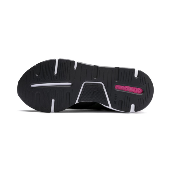 Basket Muse pour enfant, Puma Black-Pale Pink, large