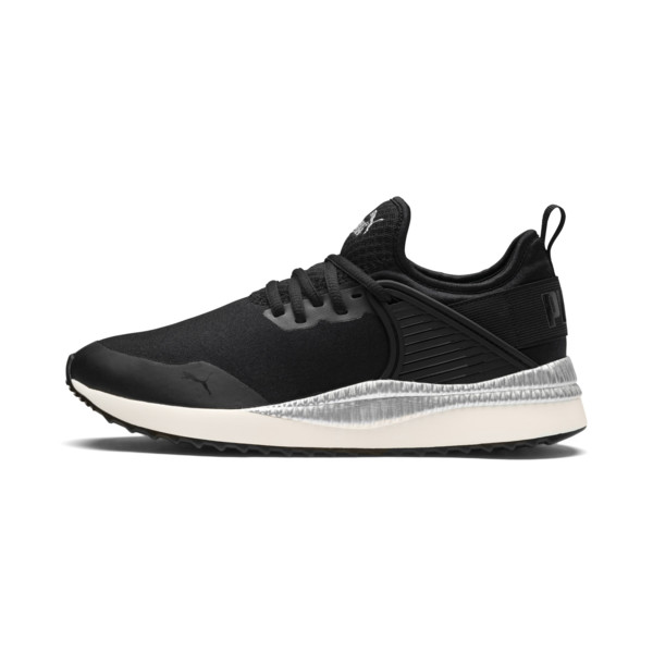 Pacer Next Cage ST2 Women's Sneakers, P Black-Black-Whisper White, large