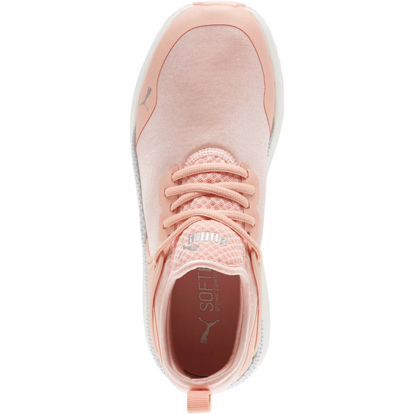 Pacer Next Cage ST2 Women's Sneakers, Peach Bud-Puma Silver, large
