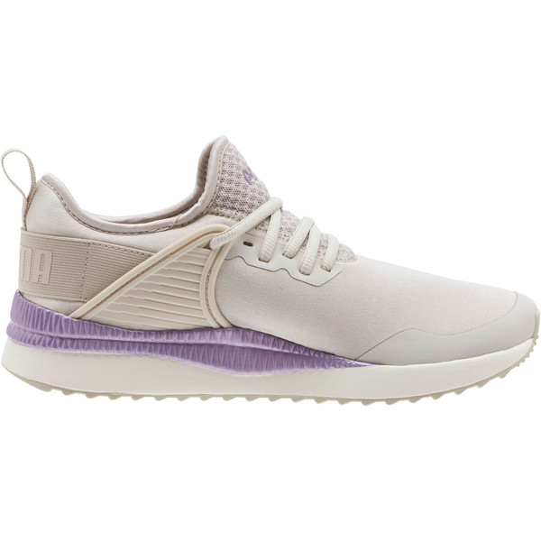 Pacer Next Cage ST2 Women's Sneakers, Silver Gray-Metal. Lavender, large