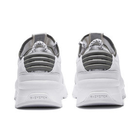 Thumbnail 4 of RS-0 Optic Pop Trainers, Puma White-Puma Silver, medium