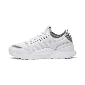 Thumbnail 1 of RS-0 Optic Pop Trainers, Puma White-Puma Silver, medium
