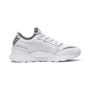 Thumbnail 5 of RS-0 Optic Pop Trainers, Puma White-Puma Silver, medium