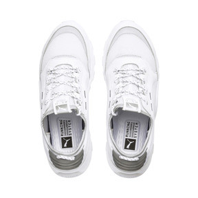 Thumbnail 8 of RS-0 Optic Pop Trainers, Puma White-Puma Silver, medium