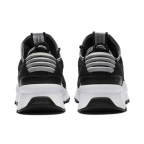 Thumbnail 4 of RS-0 Optic Pop Trainers, Puma Black-Puma Silver, medium