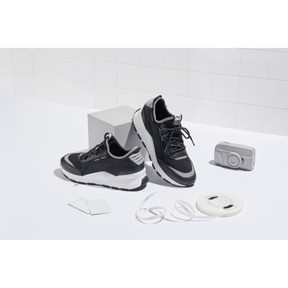 Thumbnail 6 of RS-0 Optic Pop Trainers, Puma Black-Puma Silver, medium