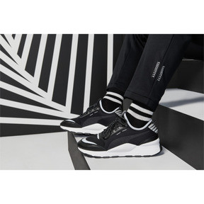 Thumbnail 7 of RS-0 Optic Pop Trainers, Puma Black-Puma Silver, medium