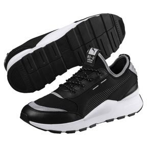 Thumbnail 2 of RS-0 Optic Pop Trainers, Puma Black-Puma Silver, medium