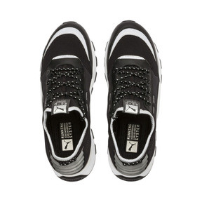 Thumbnail 8 of RS-0 Optic Pop Trainers, Puma Black-Puma Silver, medium