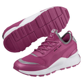 Thumbnail 2 of RS-0 Optic Pop Trainers, Magenta Haze-Puma White, medium