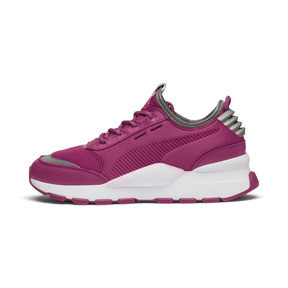 Thumbnail 1 of RS-0 Optic Pop Trainers, Magenta Haze-Puma White, medium