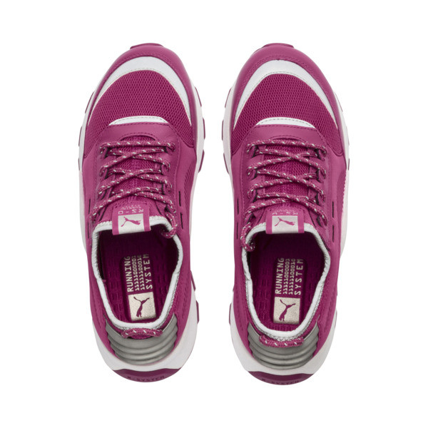 RS-0 Optic Pop Trainers, Magenta Haze-Puma White, large