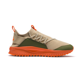 Thumbnail 5 of PUMA x ATELIER NEW REGIME TSUGI Jun Sneaker, Pebble-Olive-Scarlet Ibis, medium