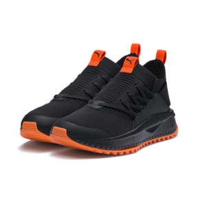 Thumbnail 2 of PUMA x ATELIER NEW REGIME TSUGI Jun Trainers, Puma Black-Scarlet Ibis, medium